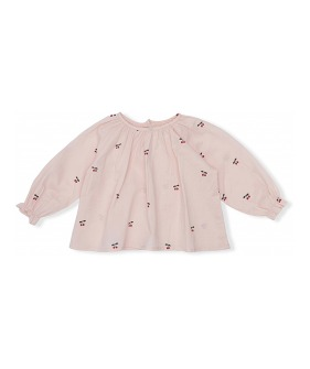 Emma Blouse - Cherry/Blush ★ONLY 7-8Y★