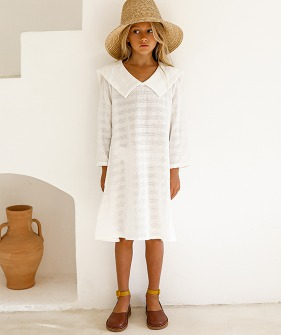 Emiliana Dress - White
