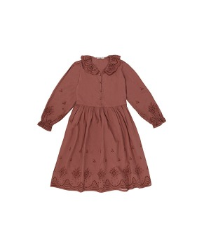Beatrice Dress - Rose Taupe