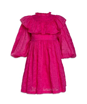 Sophia Dress - Fuschia