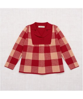 Plaid Tunic - Berry