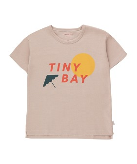 Tiny Bay Tee - Dusty Pink/Red