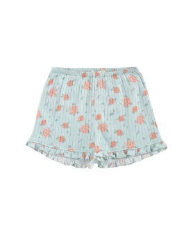 Anchi Shorts - Vintage Blue Flowers ◆입고지연◆