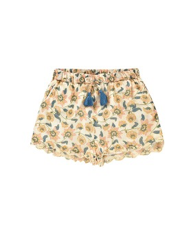 Vallaloid Shorts - Cream Flowers ◆입고지연◆