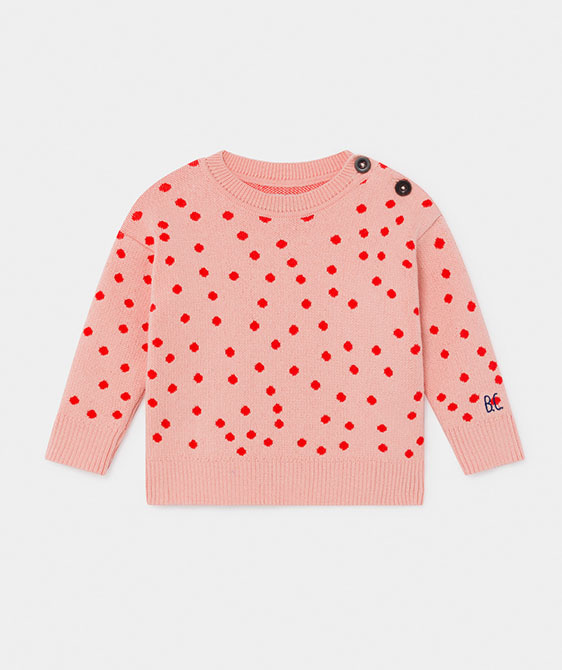 Dots Knitted Jumper (Baby) #00090