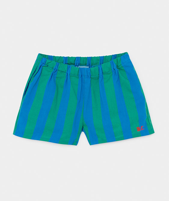 Striped Woven Shorts (Kid) #01073
