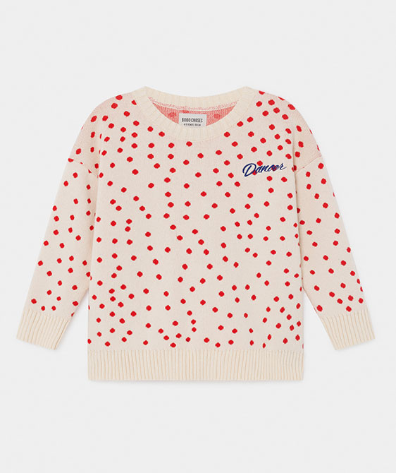 Dots Knitted Jumper (Kid) #01139