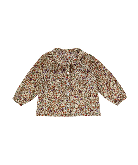 Annie Blouse - Autumnal Floral ★ONLY 4-5Y★