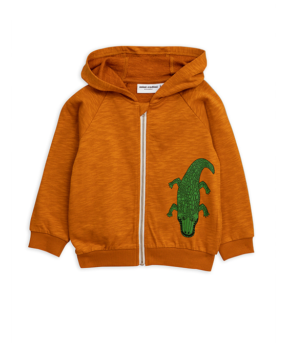 Crocco Sp Zip Hood - Brown