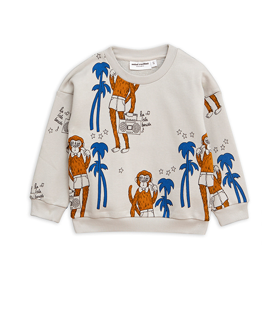 Cool Monkey Aop Sweatshirt - Grey ★ONLY 116/122 (6Y)★