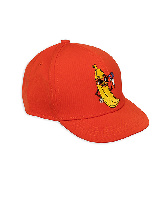 Banana Trucker Cap - Red