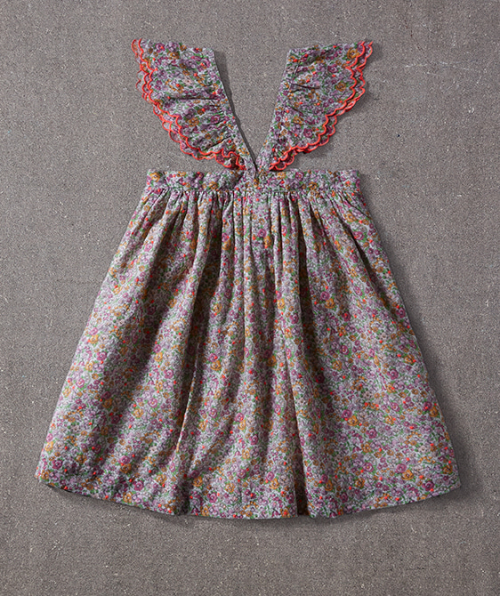 Molly Dress - Spring Bouquet