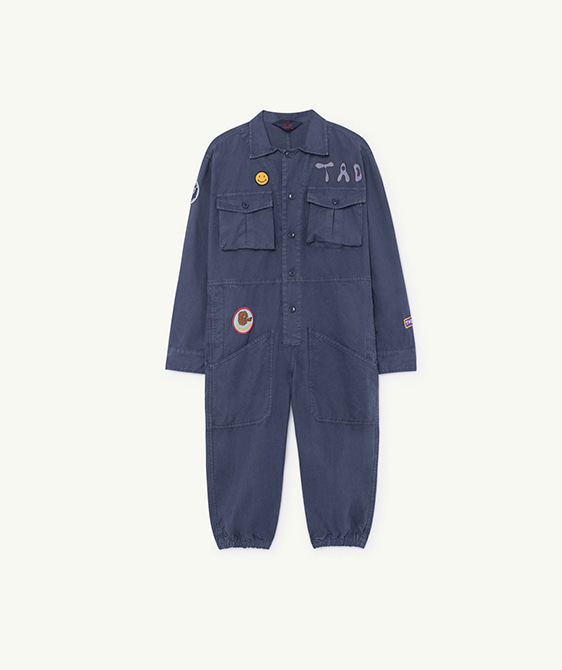 Grasshopper Kids Jumpsuit - Blue Landscape ★ONLY 4Y★