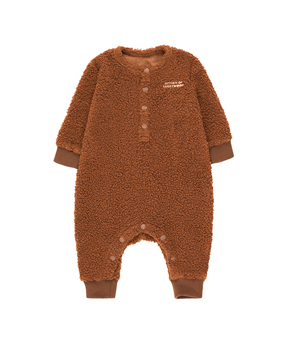 Citizen Of Luckywood One-Piece - Dark Brown/Light Cream