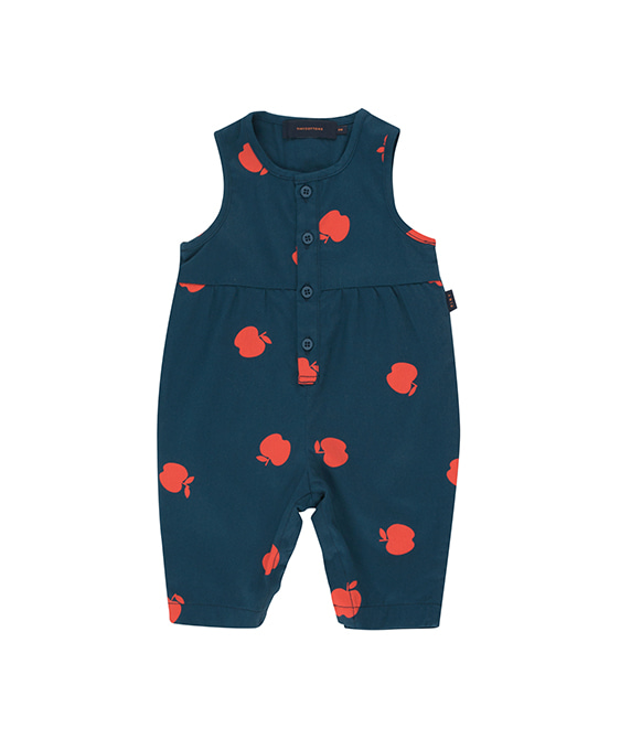 Apples One-Piece - True Navy/Burgundy