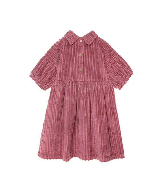 Corduroy Dress - Plum