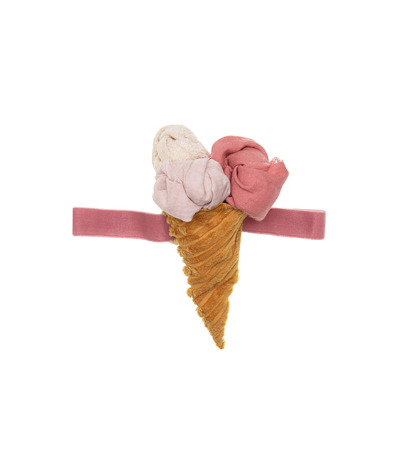 Icecream Elastic Band  - Pink