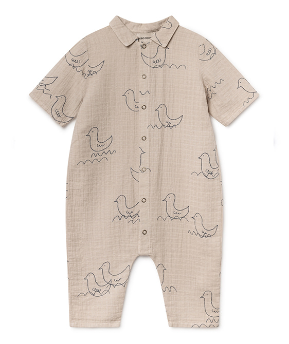 Geese Buttons Playsuit #209 ★ONLY 18-24M★