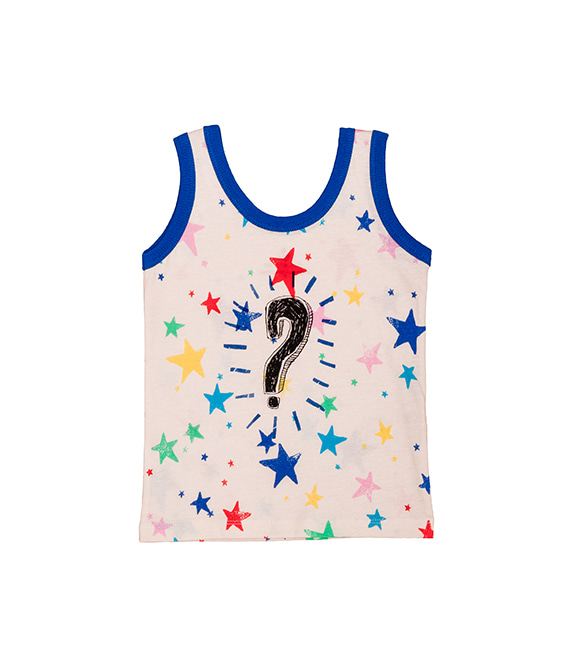 [균일가] Tank Top - Multi Kulti Stars ★ONLY 2Y★
