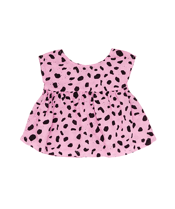 Baby Tunic - Pink Mash ★ONLY 12-18M★