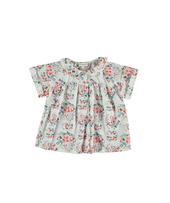 Peter Pan Collar Blouse - Flowers ★ONLY 6Y★