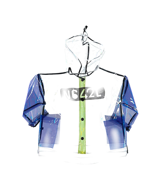 Unisex Rain Jacket - Transparent