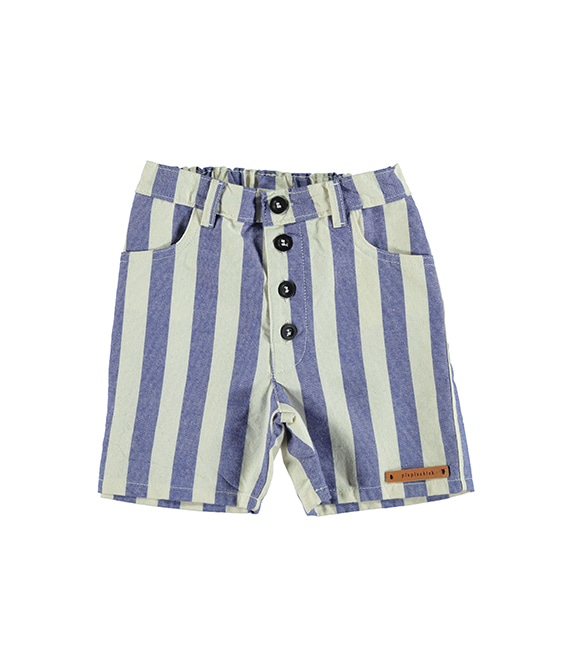 Boy'S Shorts - Blue Stripes