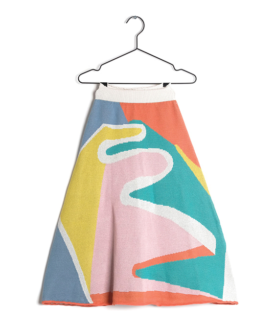 Julia Roll A Landscape Skirt