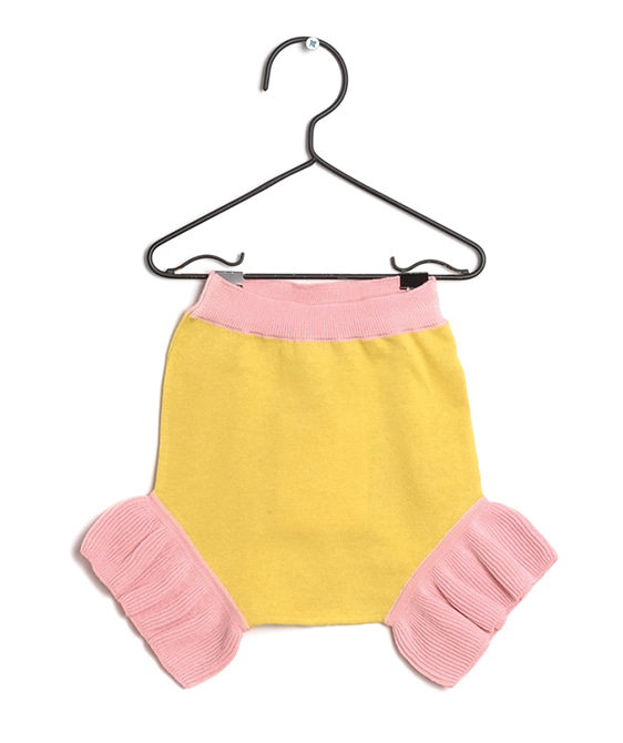 Martina Yellow Shorts