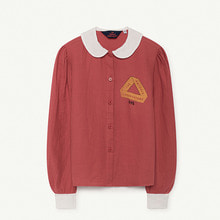 Kangaroo Kids Shirt - Red Triangle