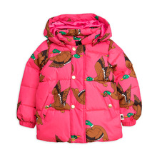 Ducks Puffer Jacket - Cerise ★ONLY 12-18M★