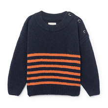 Jaquard Orange Stripes Jumper (Baby&Kid)