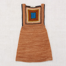 Log Cabin Pinafore - Rose Gold