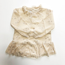 Baby Stars Body - Dress  w/ Tulle - Ecru ★ONLY 2Y★