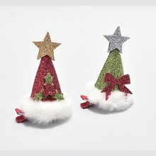 Chistmas Party Hat Hair Clip - 2 Colors