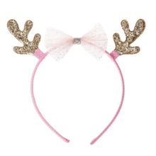 Tulle Bow Reindeer Alice Band ★LAST ONE★