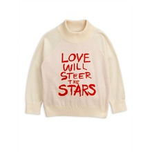 Love Knitted Sweater - White