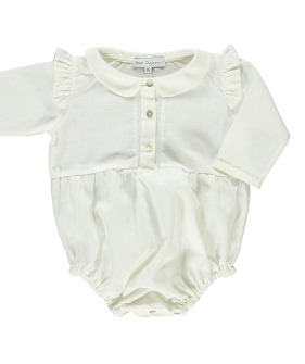 Natasha Romper - Natural white