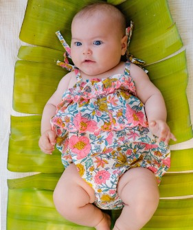 Matanzas Rompers - Multi Flowers