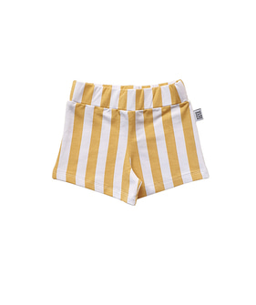 Shorts - Yellow Stripe
