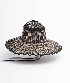 Capri Hat - Black Bamboo (Mom)