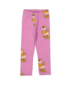 Leggings - Purple Poodle ★ONLY 4Y★