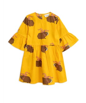 Posh Guinea Pig Dress  - Yellow