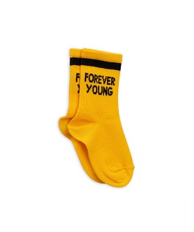 Forever Young Sock - Yellow