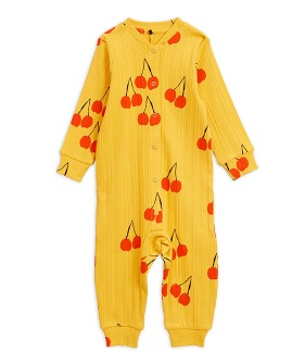 Cherry Jumpsuit - Yellow