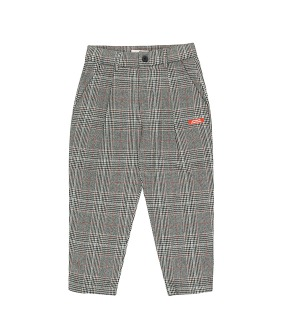 Tweed Pleated Pant - Multicolor