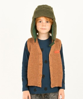 Tiny Vest - Brown