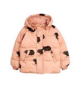 Guinea Pig Puffer Jacket -  Pink  ★ONLY 80/86★