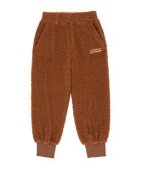Citizen Of Luckywood Sweatpant - Dark Brown/Light Cream