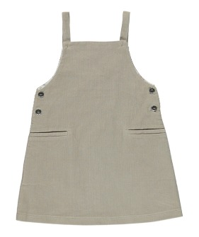 Viktoria Pinafore - Simple Taupe